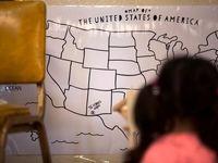 کمپ مهاجران نیومکزیکو +تصاویر