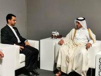 آذری جهرمی با نخستوزیر قطر دیدار کرد