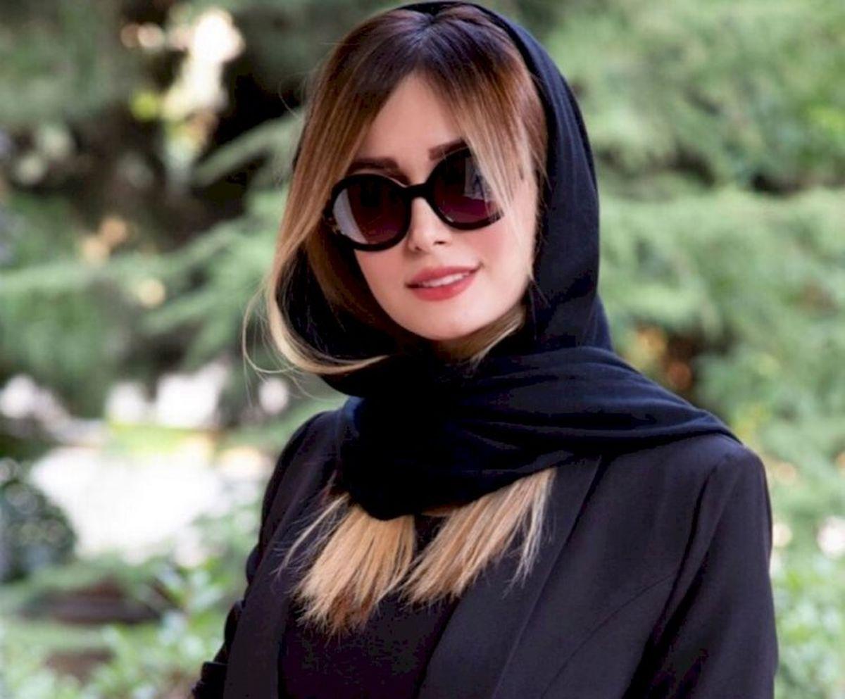 چهره عصبانی همسر شاهرخ استخری + عکس