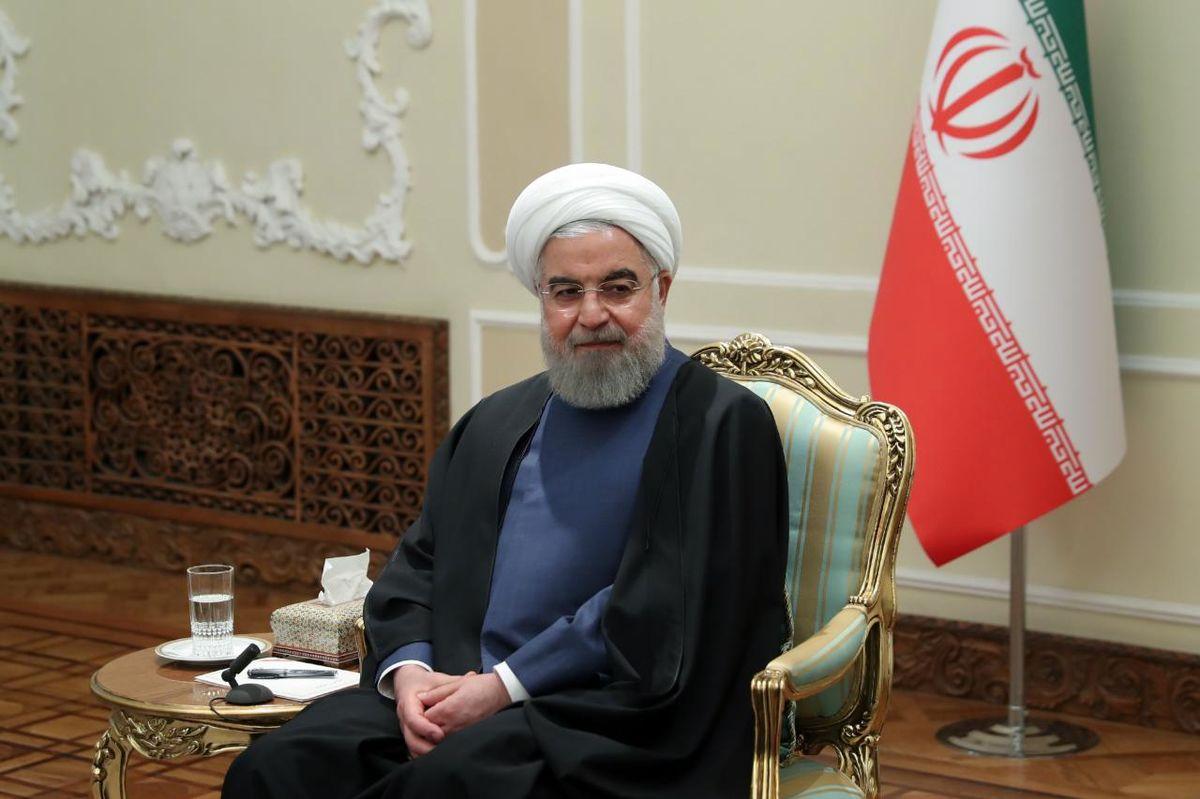 پیام تبریک روحانی به سران کشورهای حوزه تمدن نوروز