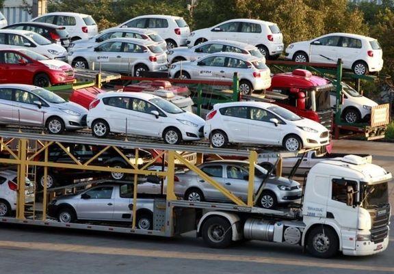 واردات ۲۹میلیون دلار خودرو و قطعات در فروردین