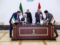 امضای ۵سند همکاری مشترک میان ایران و عراق