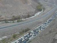 ترافیک محور آمل-تهران؛ هماکنون +عکس