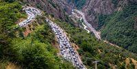 استان های شمالی دوباره گرفتار ترافیک شدند