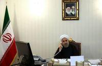 تاکید روحانی بر توسعه روابط ایران و آذربایجان