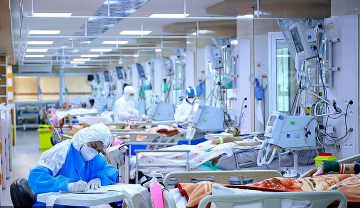 آخرین روند بستری بیماران کرونایی در کل کشور
