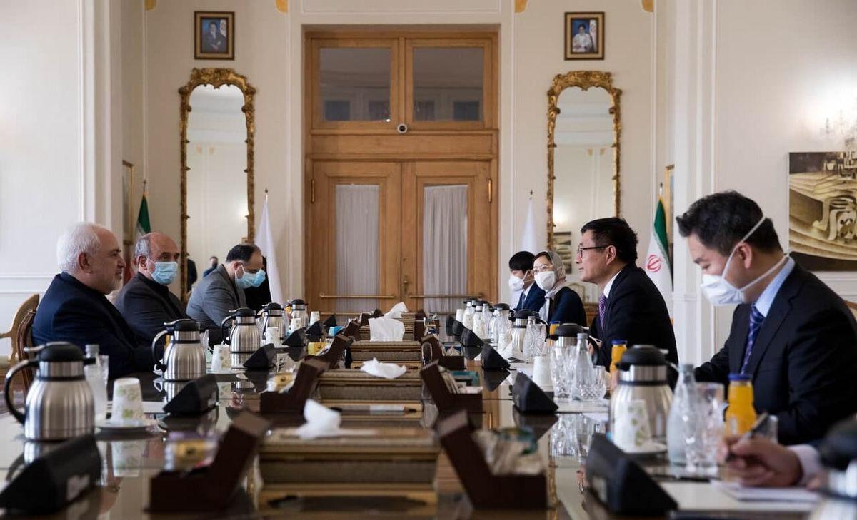 گفتگوی ظریف با نماینده چین در امور افغانستان