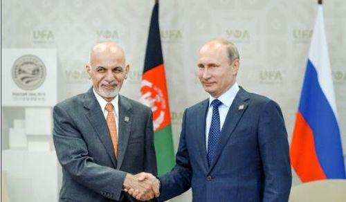 پوتین در افغانستان به دنبال چیست؟