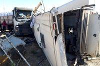 علت تصادف امروز اتوبوس سربازان چه بود؟
