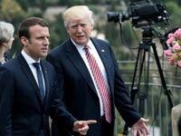 هدایای عجیب رهبران آمریکا و فرانسه به یکدیگر