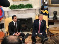 گفتوگوی تلفنی امیر قطر با ترامپ