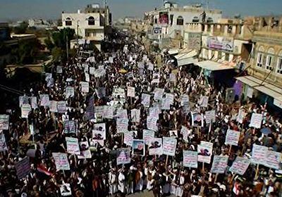 آغاز تجمع مردم یمن در شهر «صعده» +فیلم