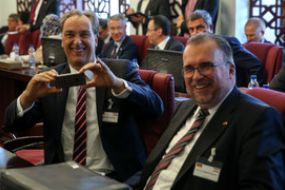 دیدار وزیران اقتصاد ایران و آلمان