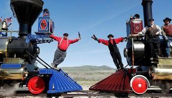 راه آهن سراسری آمریکا 150 ساله شد +تصاویر