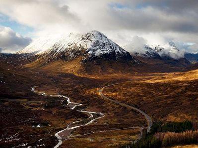 زمستان رویایی اسکاتلند +تصاویر