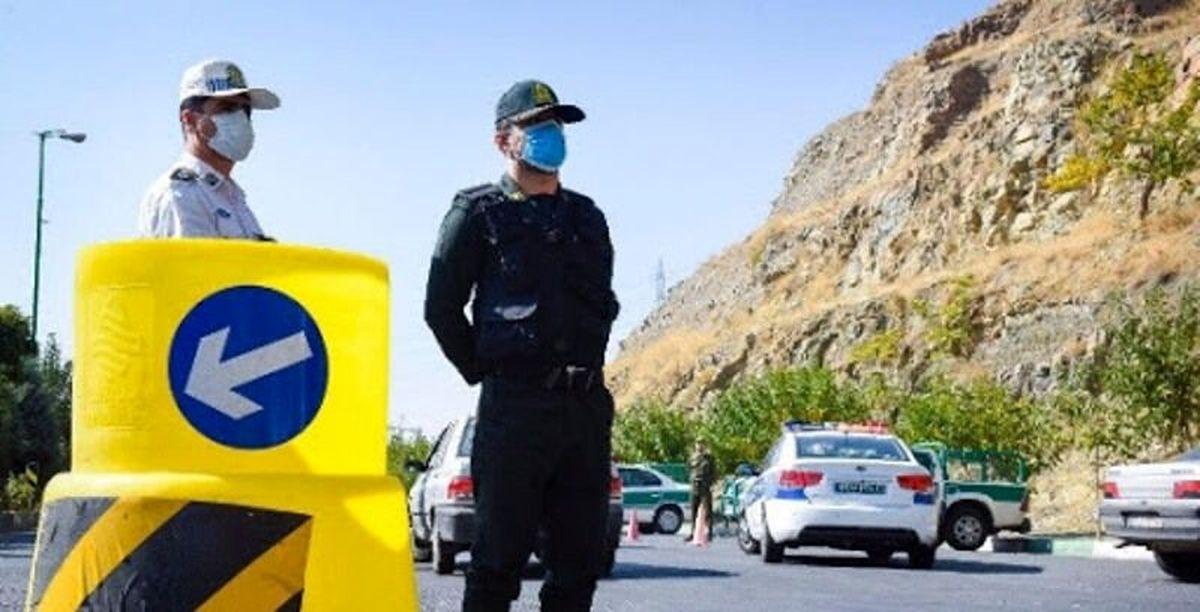 کاهش تردد در شرق تهران