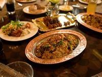 افطاری اولین سرآشپز مرد امارات +فیلم