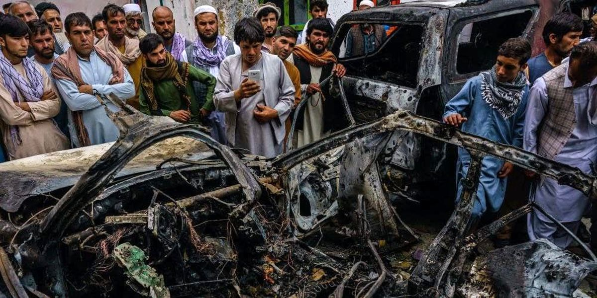 حمله اشتباه آمریکا در افغانستان