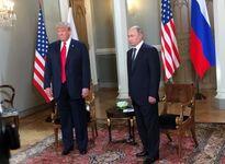 تصویر جالب هفته نامه تایم بعد از دیدار پوتین و ترامپ +عکس