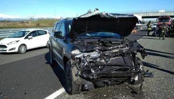 تصادف شدید ستاره یوونتوس در تورین +عکس