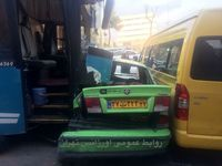 تصادف مرگبار اتوبوس با 7خودرو در ولنجک