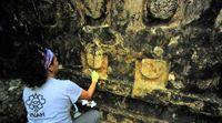 کشف کاخ باستانی مایا در شرق مکزیک +عکس