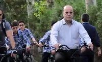 حضور شهردارمنطقه۶ در پویش سه شنبههای بدون خودرو