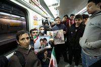 تعداد مسافران مترو در دو روز اول هفته کرونایی