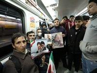 نحوه اجرای طرح فاصله گذاری اجتماعی در مترو