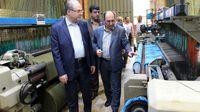 بازدید نایب رییس هیات مدیره بانک تجارت از طرحهای تولیدی قزوین