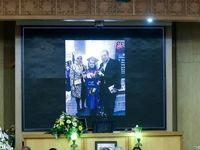 مراسم یادبود دو تن از جانباختگان سقوط هواپیما +تصاویر
