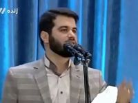 اشعار سیاسی مداح پیشاز نماز عیدفطر +فیلم