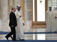 هدیه جالب پوتین به ولیعهد ابوظبی +عکس