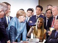 دختر ترامپ اینجا، آنجا، همه جا! +تصاویر