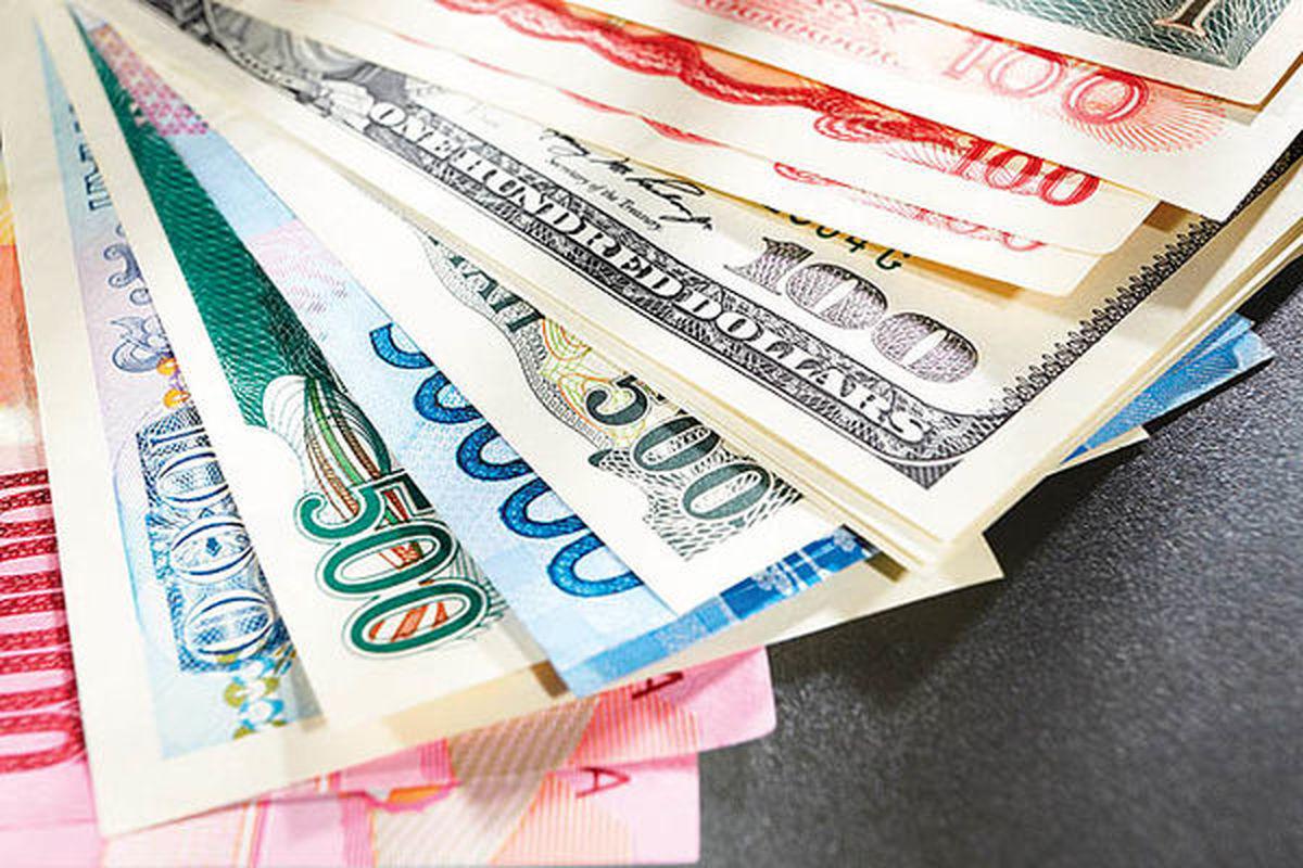 نرخ رسمی ۹ ارز  کاهش یافت