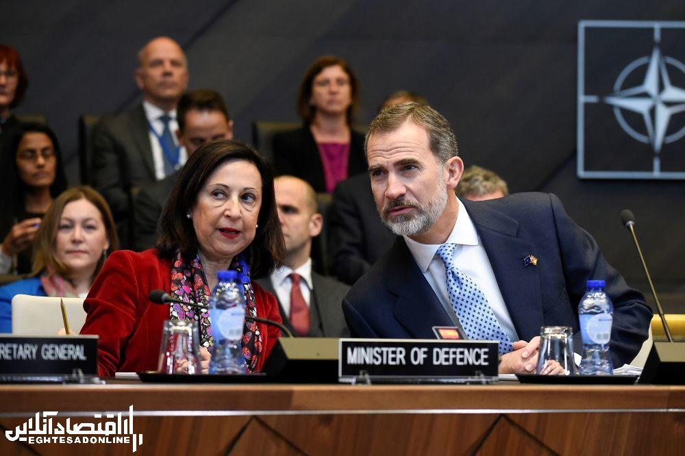 وزیر دفاع اسپانیا خانم مارگاریتا روبلس