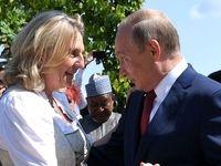 هدیه ازدواج پوتین به وزیر اتریشی چه بود؟ +عکس