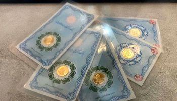کاهش قیمت طلا و سکه در بازار امروز/ اونس گران شد