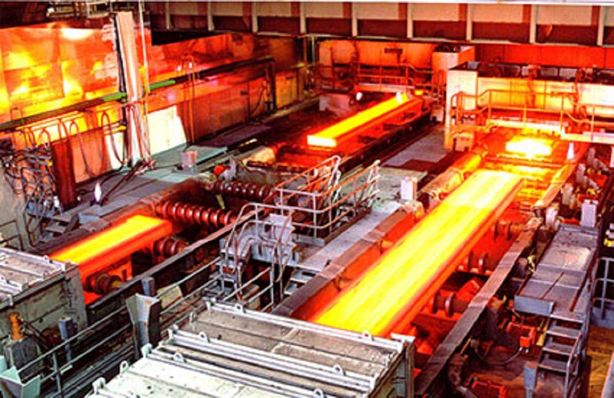 کاهش تولید انواع محصولات فولادی