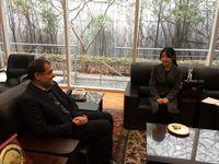 تقدیر وزیر بهداشت از بازیگر نقش یانگوم +فیلم