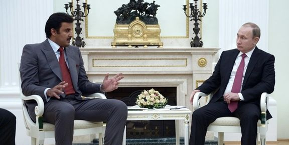 بعد از تماس با روحانی؛ امیر قطر با پوتین هم تلفنی گفتوگو کرد