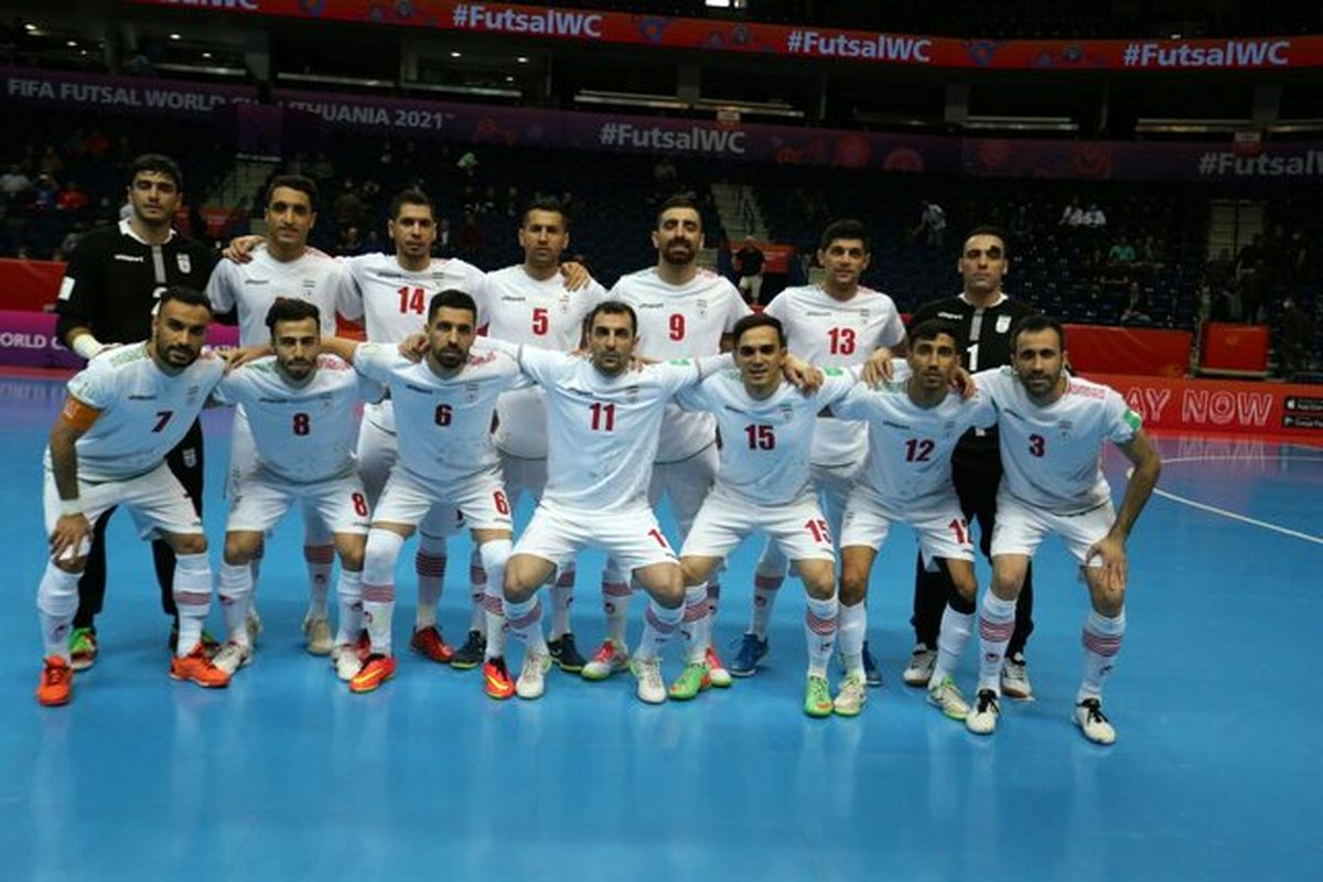تیم ملی فوتسال ایران در اولین بازی جام جهانی پیروز شد