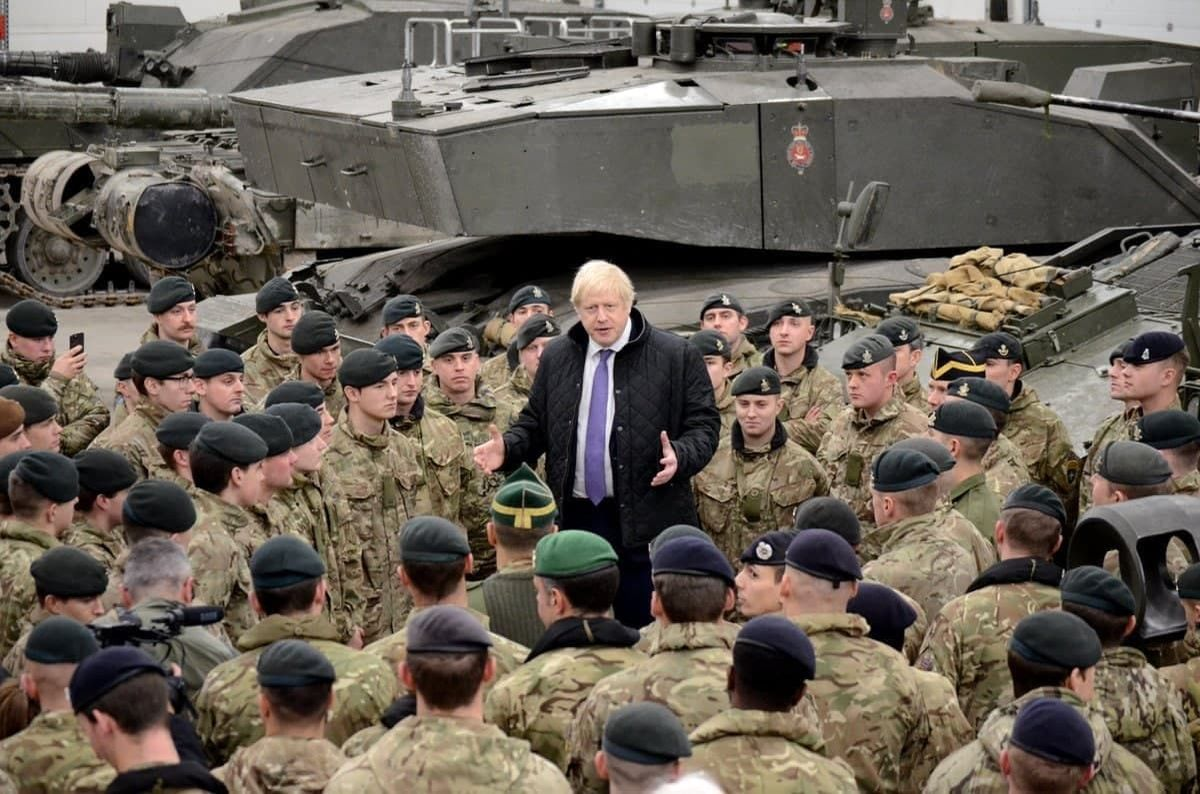 دولت انگلیس بودجه نظامی را بهشدت افزایش میدهد