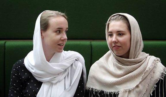 دختران خارجی مهمان جلسه علنی مجلس +عکس