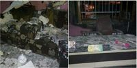 آتش سوزی مدرسه ابتدایی در محمود آباد مازندران