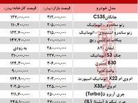 خودروهای 200 تا 300میلیونی بازار تهران +جدول