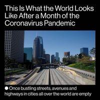 مروری بر روند شیوع ویروس کرونا/ تصاویر اماکن مختلف جهان پس از یک ماه تعطیلی