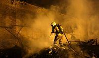 ۵۰۰نفر در آتش سوزی دوغارون دچار سانحه شدند