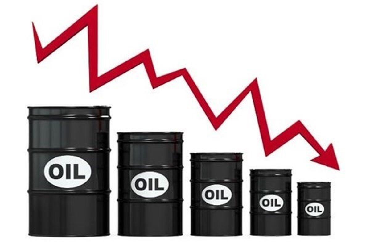 ۳درصد؛ ریزش قیمت نفت