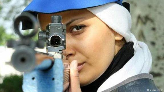 زن تیرانداز ایرانی رکورد جهان را شکست